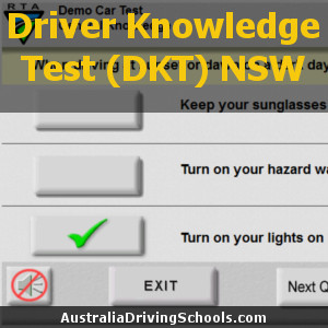 L driving test nsw